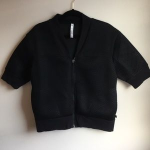 Fabletics Mesh Jacket Black XL